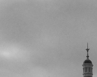 Sky and steeple