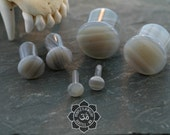 Grey Agate, Single Flare with silicone o rings
