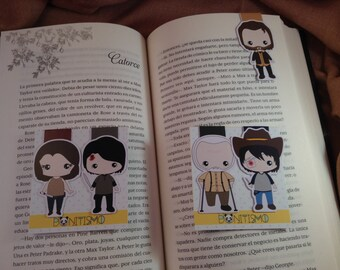 Magnetic bookmarks - The Walking Dead II