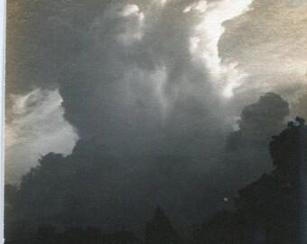 Vitnage Photograph 1920's Stieglitz Like Cloud Study