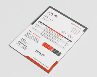 Photography Invoice template Invoice design Receipt