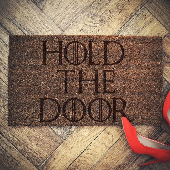 Game of Thrones - Hold the Door Doormat