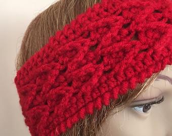 Crochet headband, crochet earwamer,