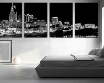 Nashville Wall Art nashville canvas | etsy