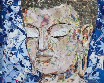 Brown Bag Buddha #17 Art Prints ~Giclee,Zen Home Decor,Buddhist Art,Buddha Decor,Yoga Art,House Gift,Zen Art,Spiritual art,Inspirational Art