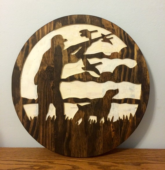 Duck Hunting Decor Waterfowl Decor Duck Wall Decor Duck