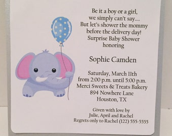 Baby Shower Invitations, Gender Neutral