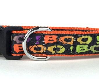 Boo! Nylon Dog Collar