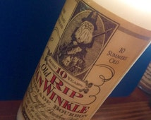 Pappy Old Rip Van Winkle Hand Made Bourbon Candle