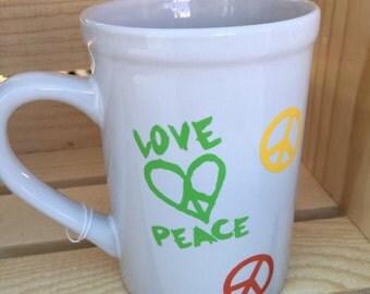 Coffee Mug - Love & Peace