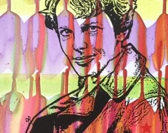 AMELIA EARHART Pop Art Original Painting