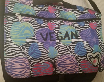 Sketchers Vegan Messenger Bookbag / Purse