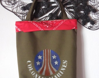 Aliens Colonial Marines bag, inspired by Vasquez