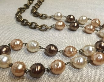 Shades of Amber Necklace