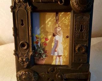Vintage Bronze Effect Photograph Frame 6x4