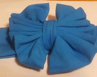 Soft Blue jersey knit