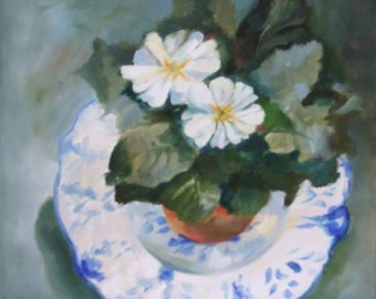Polyanthus and Plate