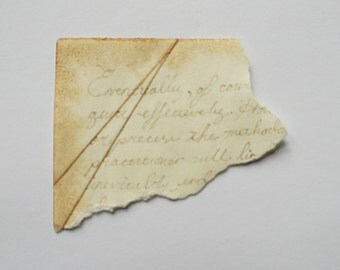 remains of a letter