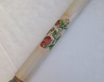 REDUCED !! Wooden rolling pin - shabby chic/gift idea/kitchenalia