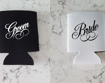 Bride and Groom can sleeve