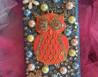 Handcrafted iPhone 5c Bling Case