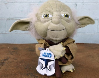 Star Wars Yoda Stuffed Doll by Comic Images