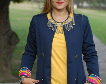 Ethnic Jacket, kuchi jacket, winter jacket, fashion jacket 2016, embroidery jacket, jackets, vintage jacket, boho jacket