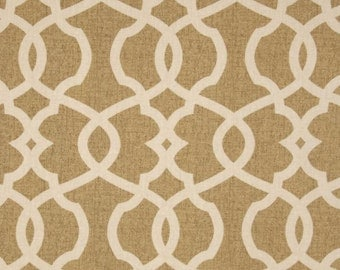 Tan Taupe Beige Curtains Brown Window Treatments Curtain Panels Custom Drapes Natural Lattice Moroccan Drapery Pair