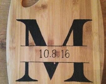 Custom Wood Burned Cutting Board