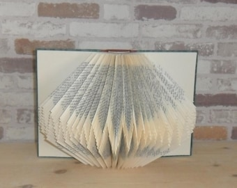 folded book - zigzag wave / / Bookfolding / / decoration / / Visual Arts / / gift / / book type