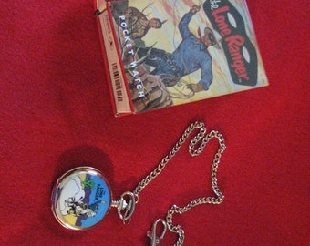 Lone Ranger Pocket Watch - Rare