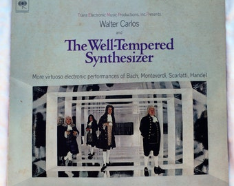 Walter Carlos and The Well-Tempered Synthesizer - 1969 - Vinyl - MS 7286