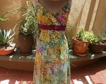 Summer Frolic T-shirt Dress
