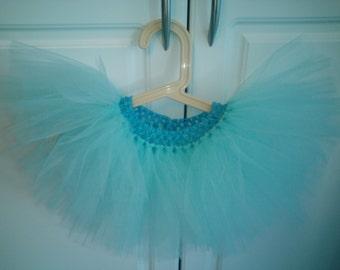 Turquoise Tutu Newborn/Toddler