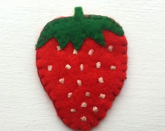 Strawberry Patch - Sew On
