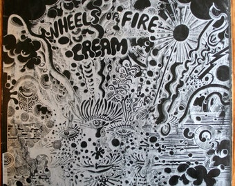 Cream - Wheels of Fire - Rare 1st UK Pressing