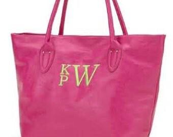 Hot Pink Monogrammable Handbag/Purse