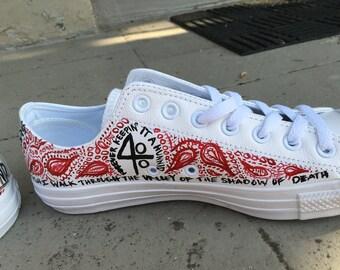 Handpainted custom chucks for YG