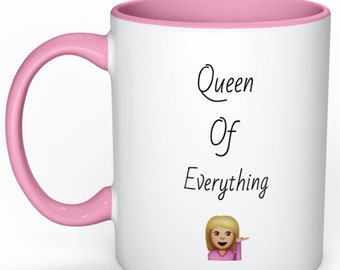 Queen of everything (pink)