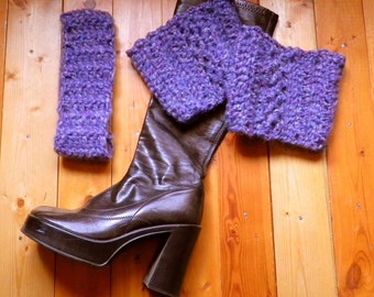 Boot Cuffs and Matching Hair Band