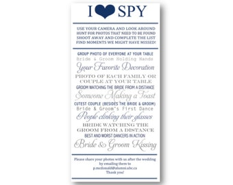 I Spy Wedding Game *Printable*