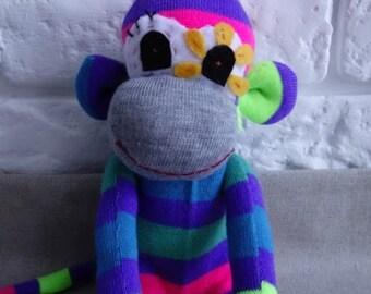 Nely, Stuffed Monkey, Kid Toy