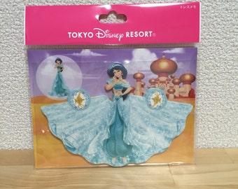 Tokyo Disney Resort disney princess dress memo pad Jasmine from Aladdin