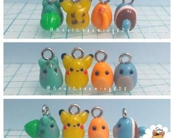 Kawaii Pokémon Charms