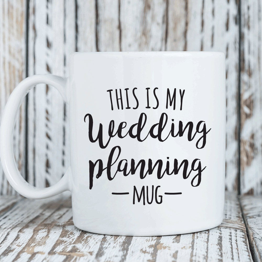 Gift Ideas For Wedding Planner: This Is My Wedding Planning Mug Bride To Be Gift By