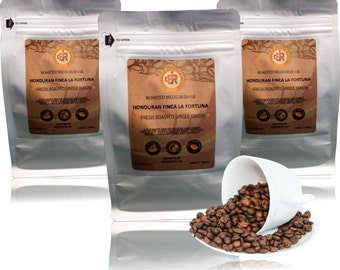HONDURAN Medium/Dark Roast-Fresh Roasted Coffee | Whole Bean or Ground | 12 or 32 oz | 10% goes to Charity(Intl Woman's Coffee Alliance)