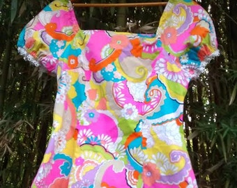 Cosmic Thing '60's Peasant Blouse