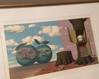 Rene Magritte Rare Lithograph...Signed Mourlot