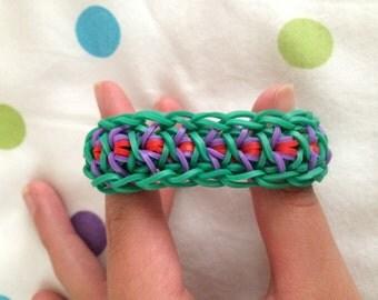 Woven Criss-Cross Rubberband bracelet