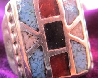 Heavy Navajo Ring Vintage
